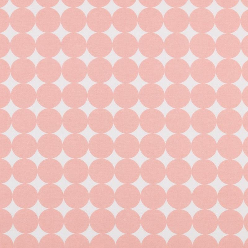 Boxkleed rondjes roze