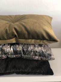 Kussen | SHINE Camouflage groen