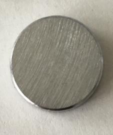 Sierslotbout | Mat zilver