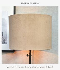 Rm Cylinder Lampshade sand 30x40 cm