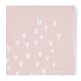 Paper Napkin Happy Heart