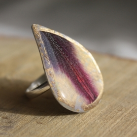 Tulip Drop Ring