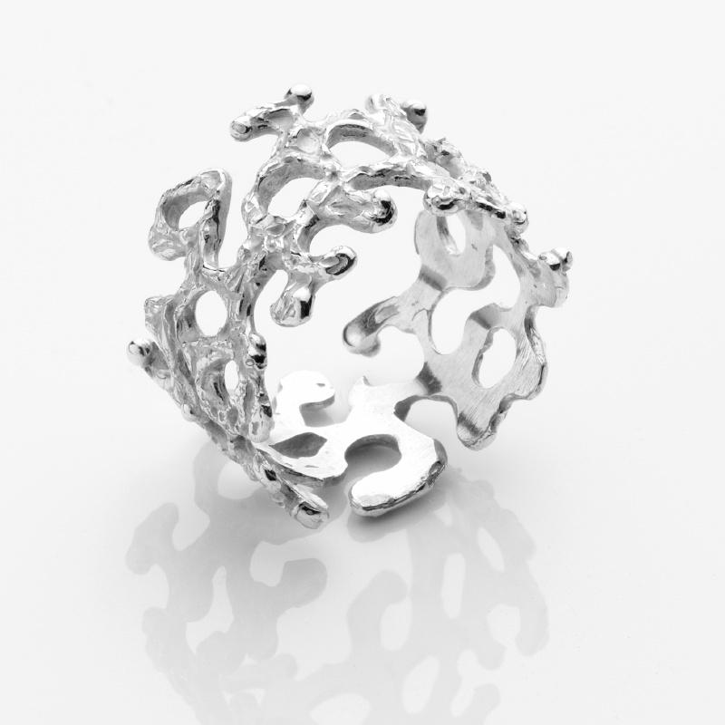 Aqua Band Ring