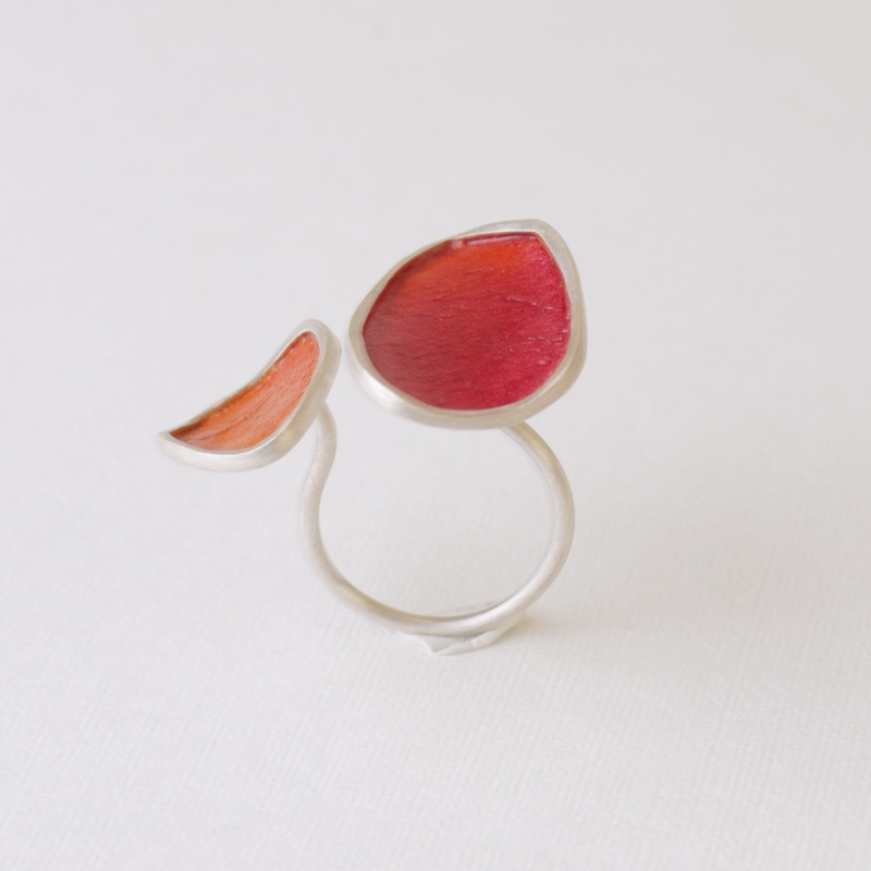 Piel Orange Ring