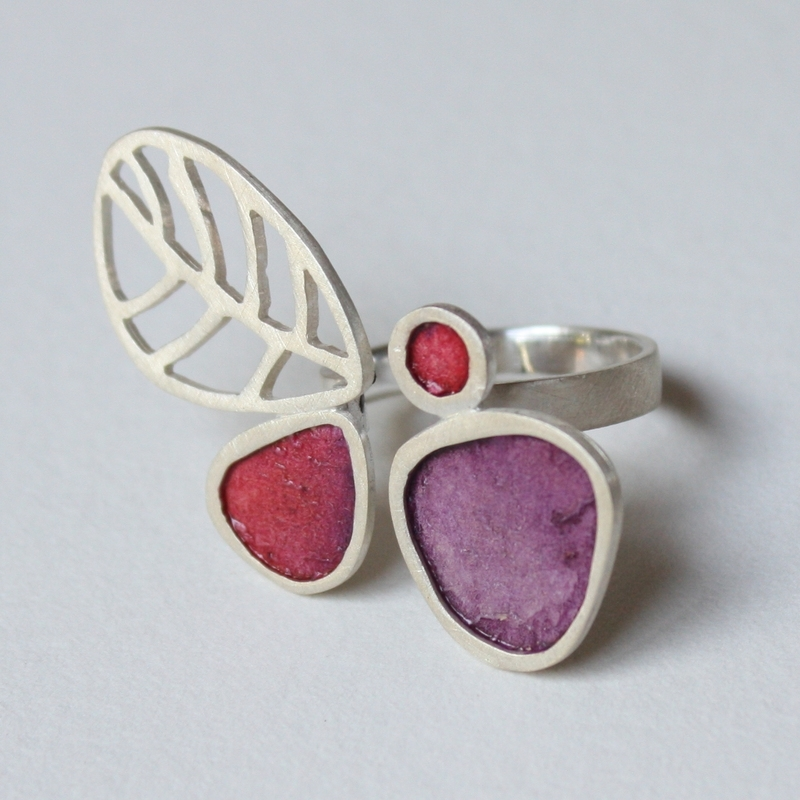 Mescal Purple Cocktail Ring