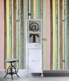 Esta Home Denim & Co. PhotowallXL painted wood 157703