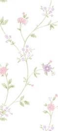 dollhouse 68862 roze paars beige stijlvol bloemen behang