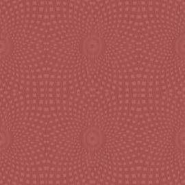 essentials behang stip rood 227171