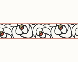 AS Creation Raffi my home - bloemen behangrand 94026-3