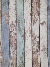 AS Creation 2015 Decora natur Sloophout behang gekleurd 95914-1