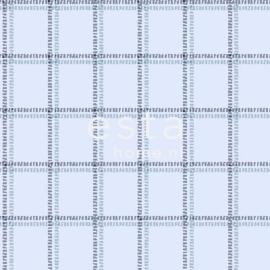 Esta Regatta Crew 136433 blauw donkerblauw ruiten behang
