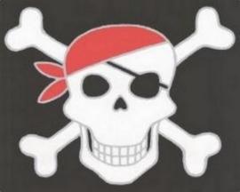 jongens behangrand piraten tiener xx1