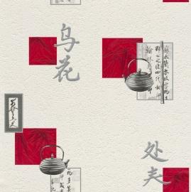chinees tekens vinyl behang 830811