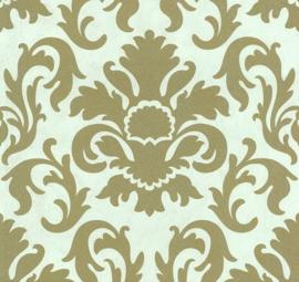 barok glitter exclusief chic goud behang carat 13343-7