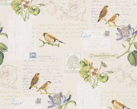 AS Creation Dekora Natur behang 95948-2 Vogels