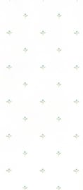 dollhouse 68853 groen wit stijlvol bloem behang