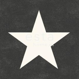 Esta Regatta Crew 136457 zwart wit sterren behang