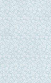 dollhouse 68857 groen wit stijlvol takje bloemen behang