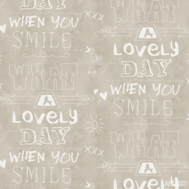 Cozz Smile behang 61166-00 What a lovely day