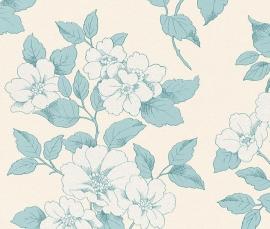 bloemen trendy rasch behang 204544