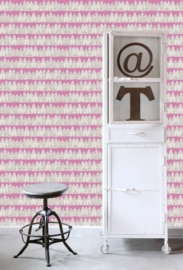 Esta Home Denim & Co. Amsterdam houses pink 137714
