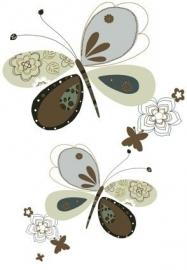 Cozz Kidz Wandposter 22191 behang vlinders