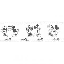 Rasch Disney Deco 3506-1 Mickey Mouse Zwart wit
