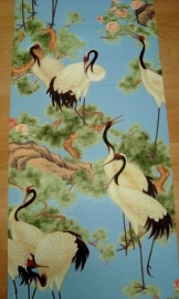 kraanvogel dieren behang vinyl oosters as creation tapete faro 7686-29