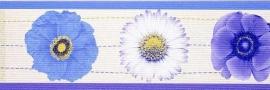 bloemen behangrand 149241