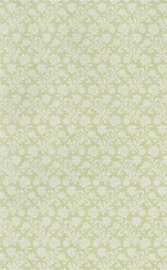 dollhouse 68859 groen wit stijlvol takje bloemen behang