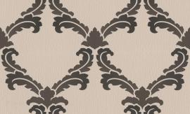 937433 La romantica bruin zwart behang