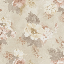 BLOEMEN BEHANG - Noordwand Vintage Damasks G34102