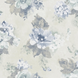 PASTEL BLOEMEN BEHANG - Noordwand Vintage Damasks G34100