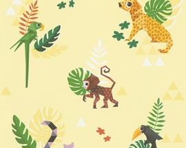 Esprit Kids 4 behang 30303-1 Jungle Party