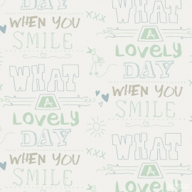 Cozz Smile behang 61166-05 What a lovely day