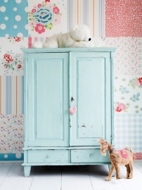 Room Seven Wallpaper Patchwork Girls 2000193
