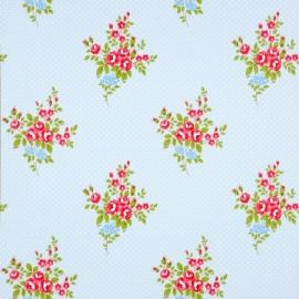 Boutique 550112 Roses Antique Blue bloemen behang