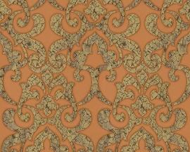 hermitage 9 9434-22 bruin barok behang