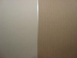 brede strepen vlies behang creme beige x85