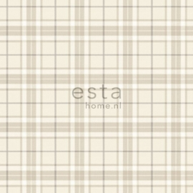 Esta Home Denim & Co. checks beige 137722