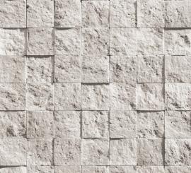 bluff natuursteen steen vinyl behang beige creme -