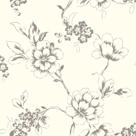 Behang Expresse Nordic - bloemen behang GT28803