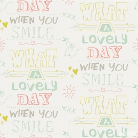 Cozz Smile behang 61166-02 What a lovely day