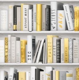 Boeken Behang L107-02