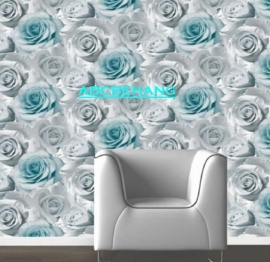 roos rozen behang xx93