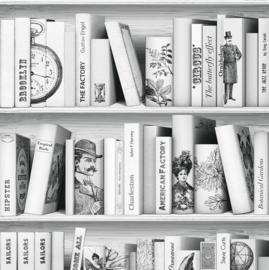 Boeken Behang L105-07