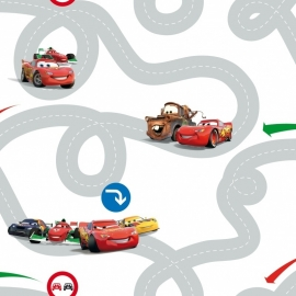 Kids@Home Disney Cars Racetrack behang DF72599 ,.