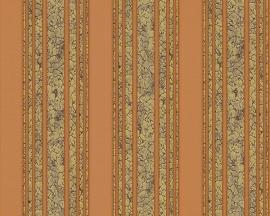 hermitage 9 9434-32 bruin streep behang