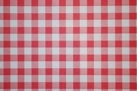rood wit ruiten behang 35