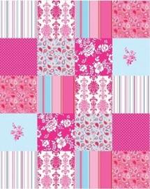 Esta Belle Rose Patchwork 155701